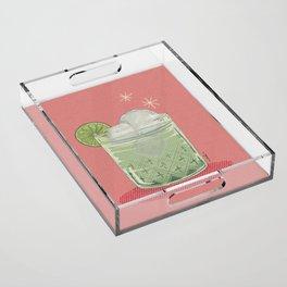 LEMON TONIC Acrylic Tray