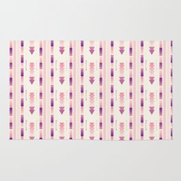 HELLO TRIBAL PASTEL PATTERN Rug