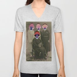 Fungus Family Unisex V-Neck