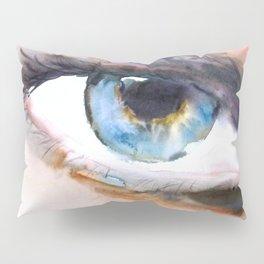 Blue eye Pillow Sham