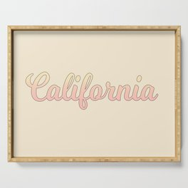 california Serving Tray