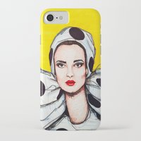 vogue iPhone & iPod Cases featuring vogue by Emily Tumen