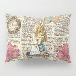 It's Always Tea Time - Alice In Wonderland Pillow Sham