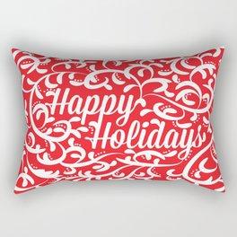Holiday Swirl Rectangular Pillow