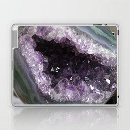 Amethyst Crystal Geode Sphere Laptop & iPad Skin