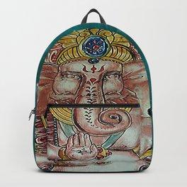 Om Ganeshaya Namah Backpack