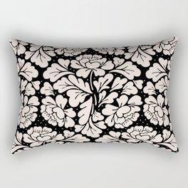 Barroco pink and black Rectangular Pillow