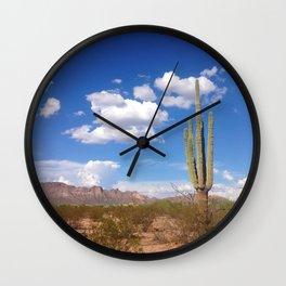Desert Love Wall Clock