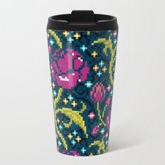 Pixel Flora Travel Mug