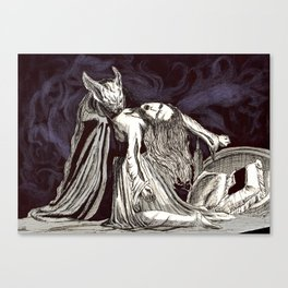 The love of the duchess #society6 Canvas Print