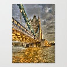 Sunset at Tower Bridge Canvas Print