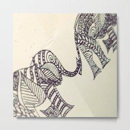 Elephünt Metal Print