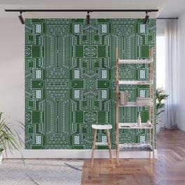 Computer Geek Circuit Board Pattern Wall Mural