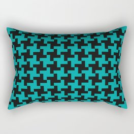 Simple Swirl Rectangular Pillow
