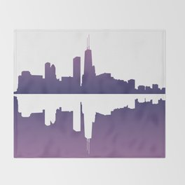 Chicago Afternoon Throw Blanket