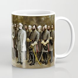 Robert E. Lee and His Generals Coffee Mug