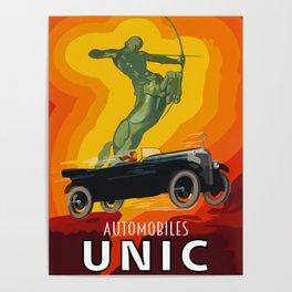 Unic automobiles Poster
