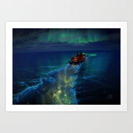 Arktika Art Print