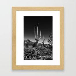 Spur Cross Framed Art Print