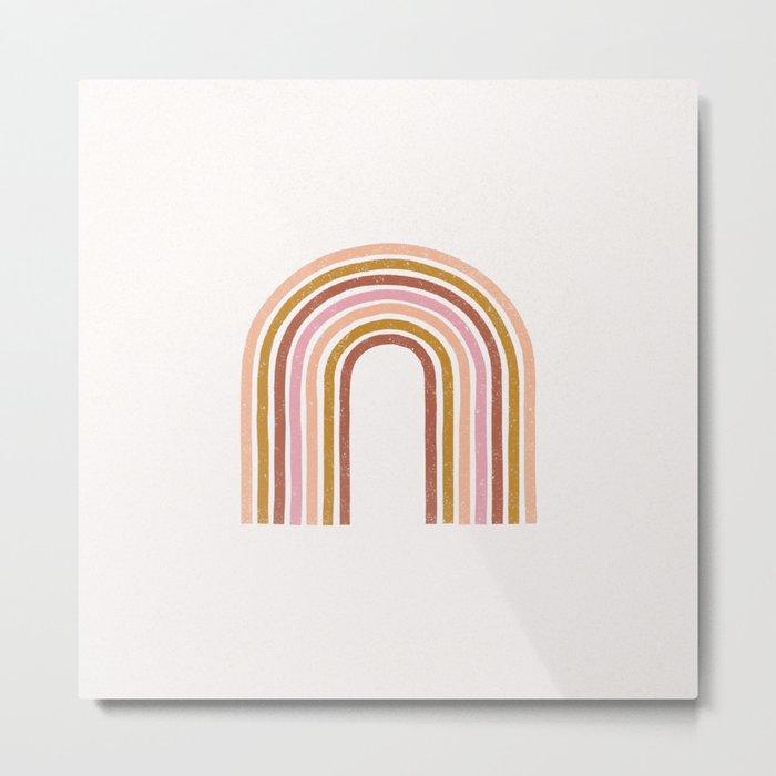 Vintage Rainbow Metal Print