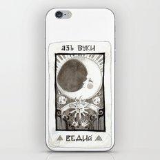 alpha beta gamma iPhone Skin