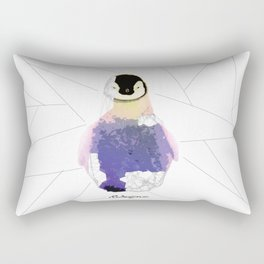 Geometric Animals - Baby Penguin Rectangular Pillow