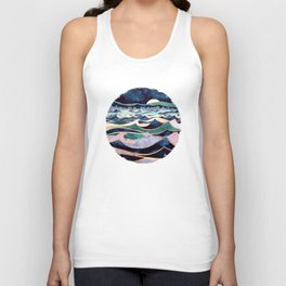 Moonlit Ocean Unisex Tank Top