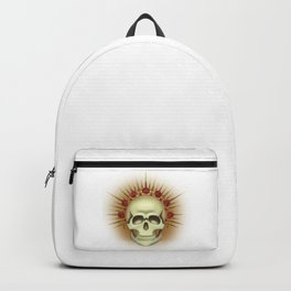 Skull with a crown Backpack