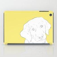 golden retriever iPad Cases featuring Golden Retriever by FeliciaR