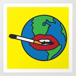 Global Warming Art Print