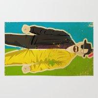 heisenberg Area & Throw Rugs featuring Heisenberg by Danny Haas