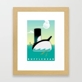 Bufflehead Framed Art Print