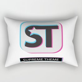 Supreme WordPress Theme Rectangular Pillow