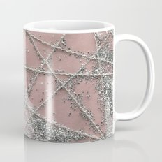 Sparkle Net Pink Coffee Mug