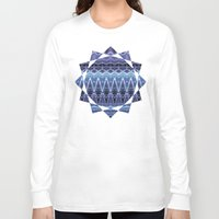 constellation Long Sleeve T-shirts featuring Constellation by Zandonai Pattern Designs