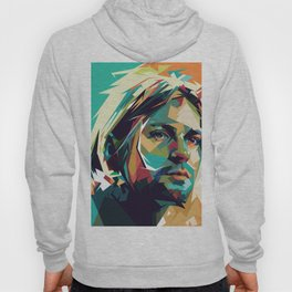 Kurt Pop Art Cobain Hoody