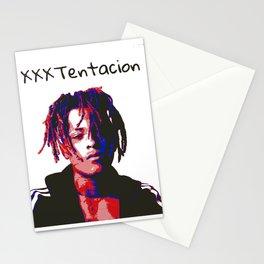xxx tentacion rapper portrait  Stationery Cards