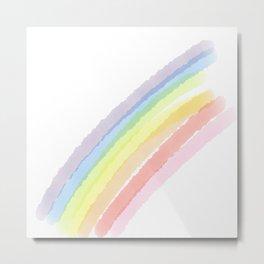 Happy Little Rainbow Metal Print