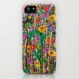 You Can Learn A Lot of Things from the Flowers iPhone Case