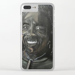 Richard Bona Clear iPhone Case