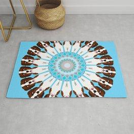 Saint Bernard Mandala Design Rug