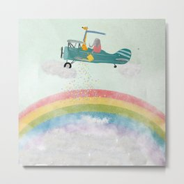 creating rainbows Metal Print