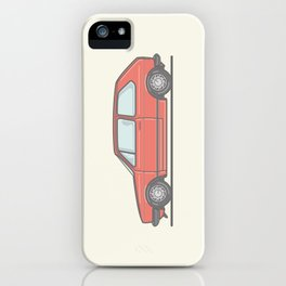 Golf Mk1 GTI vector illustration iPhone Case