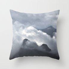 Breathless Throw Pillow