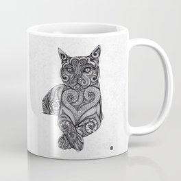 Zentangle Cat Coffee Mug