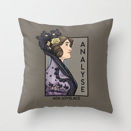Analyse Throw Pillow