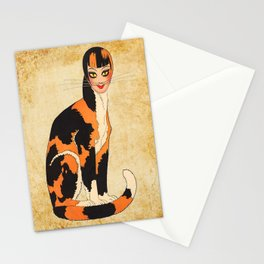 Cat-Woman Stationery Cards