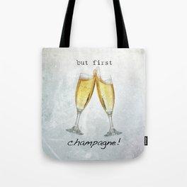 Champagne! Tote Bag