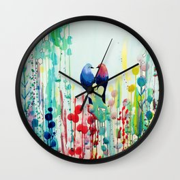 our story Wall Clock