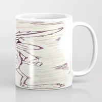 coyote Mugs featuring Coyote by Dmarmol
